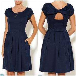 Fleet Collection Holly Golightly bow dress